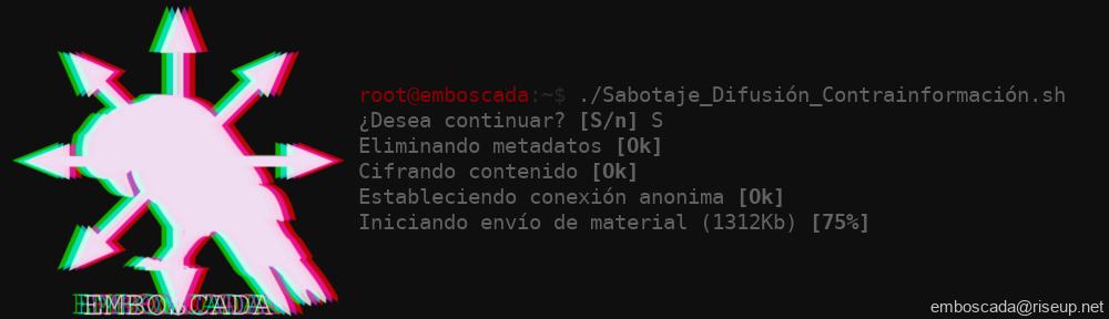 . [ E M B [] S C A D A ] .